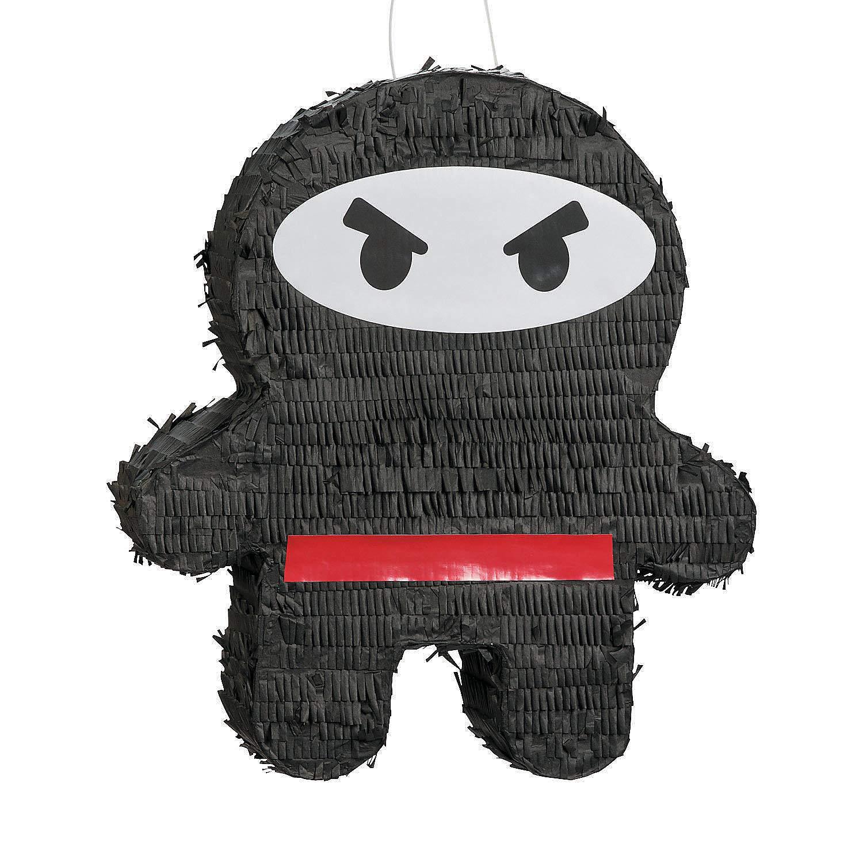 Fun Express Ninja Warriors Pinata - Ninja Birthday Party Supplies