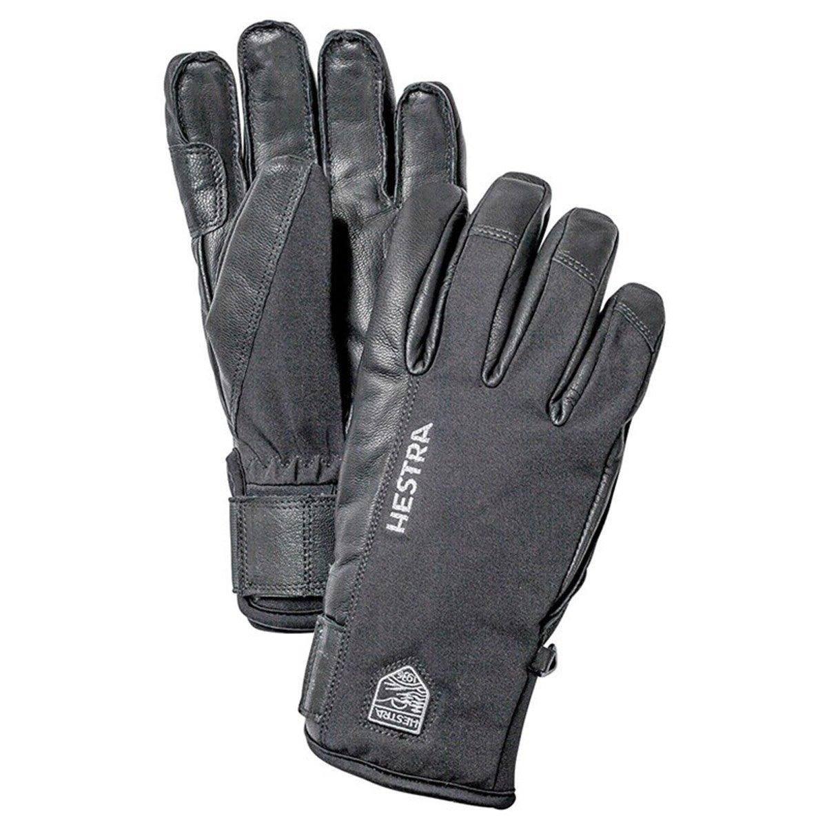 Hestra Army Leather SASTRUGI 5 Finger Navy