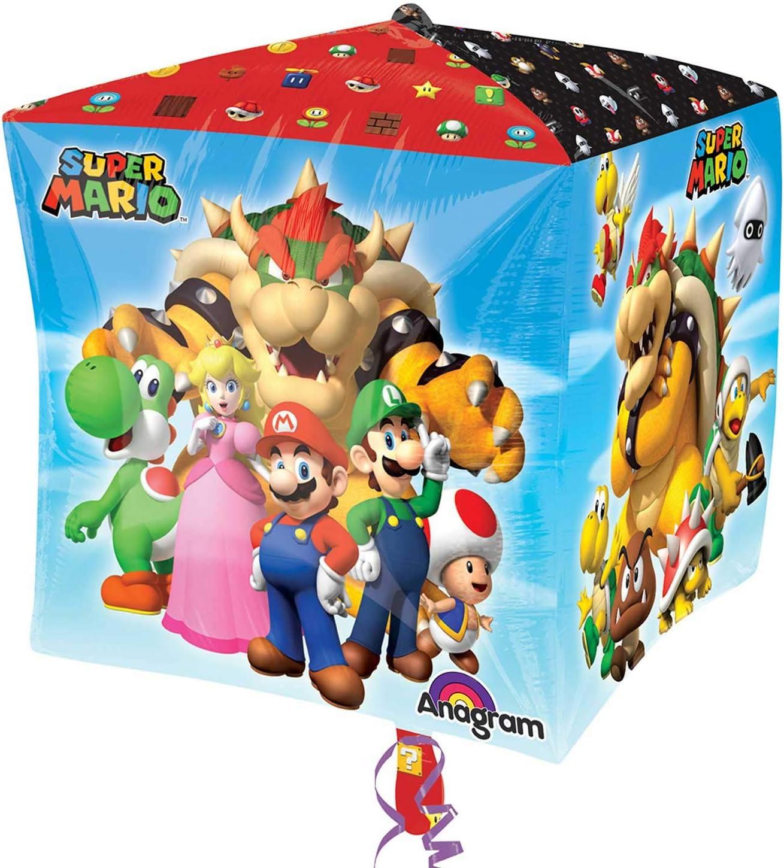 Amscan - Bolsa de regalo para fiesta infantil con temática de Mario Bros, multicolor, talla única: Amazon.es: Juguetes y juegos