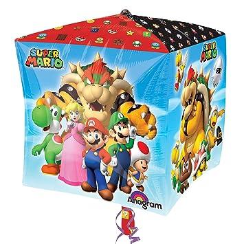 amscan 3201201 Super Mario - Juego de Cubos Decorativos (15 ...