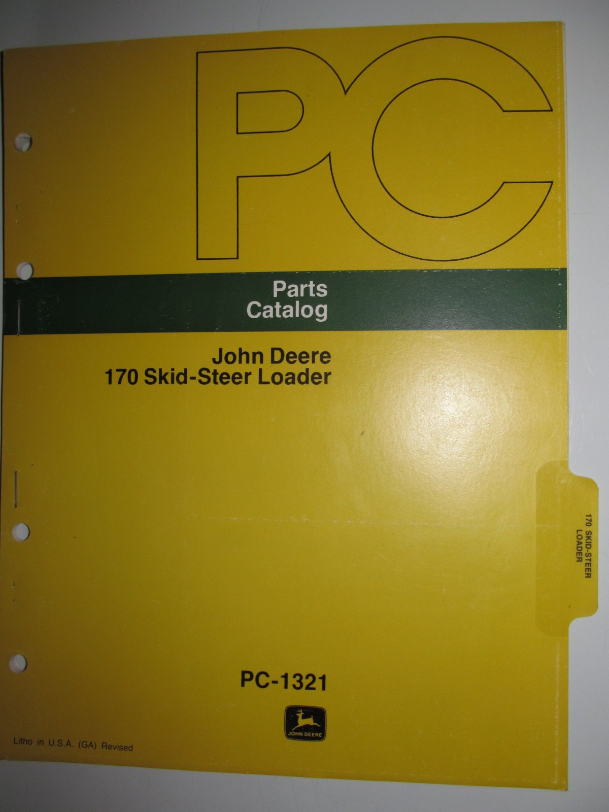 John Deere 46 Farm Loader Parts Catalog Manual ORIGINAL