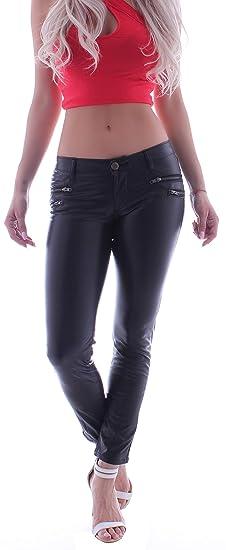 AKTUELL Damen Jeans Hose Jeanshose High Waist Skinny Röhrenjeans Röhre XS-XL