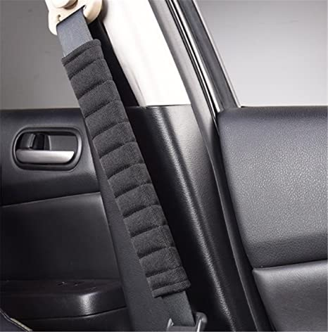 D28JD Seat belt shoulder pads Lint material soft and comfortable more comfort while traveling for T-oyota CHR Car seat