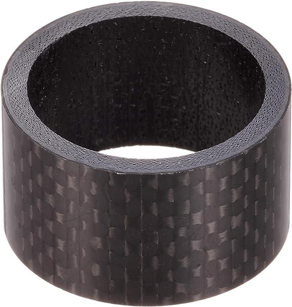 """Black 20mm Carbon Fibre Matt Head Spacer 1 1//8/"""""""
