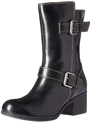 b5c622ee03db CLARKS Women s Maypearl Oasis Engineer Boot Black 5 ...