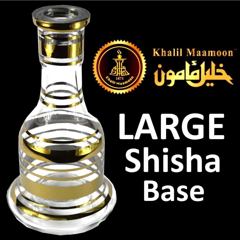 Hookah vase Khalil maamoon Hookah Glass Base/vase (Original Egyptian Made)