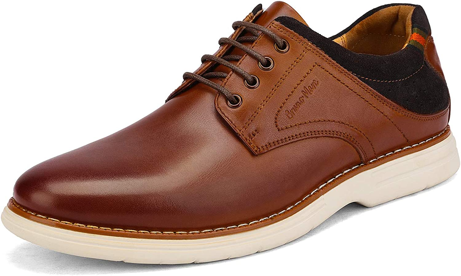 Bruno Marc Mens Oxford Dress Sneakers Casual Dress Shoes