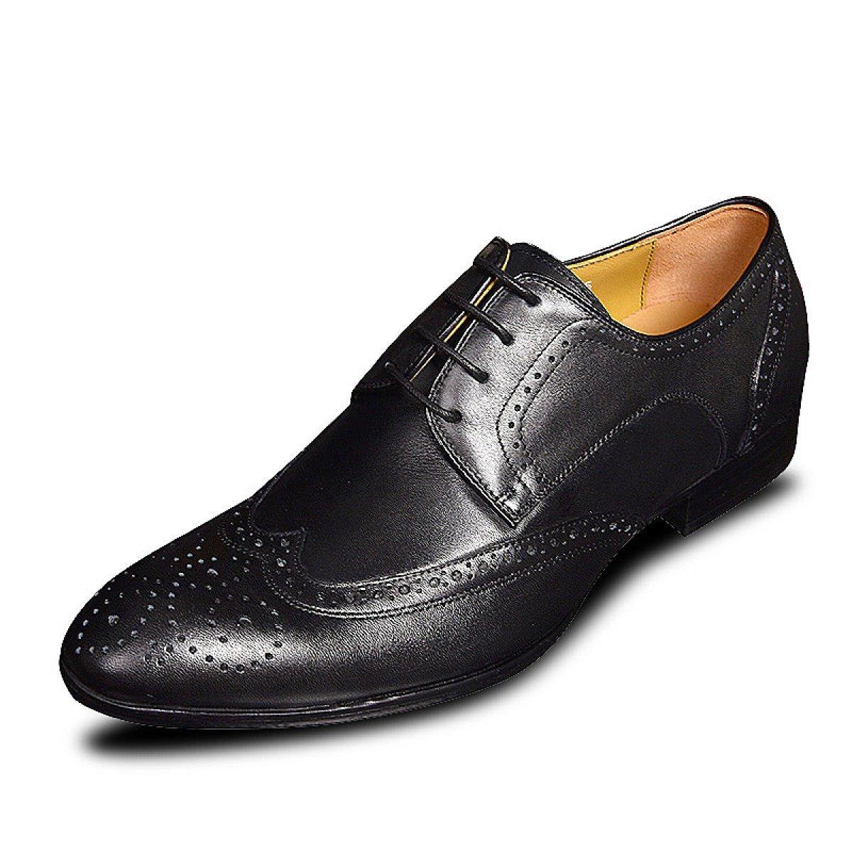GRRONG Mauml;nner Barock Hair Styles Schuhe Freizeitschuhe  39|Black