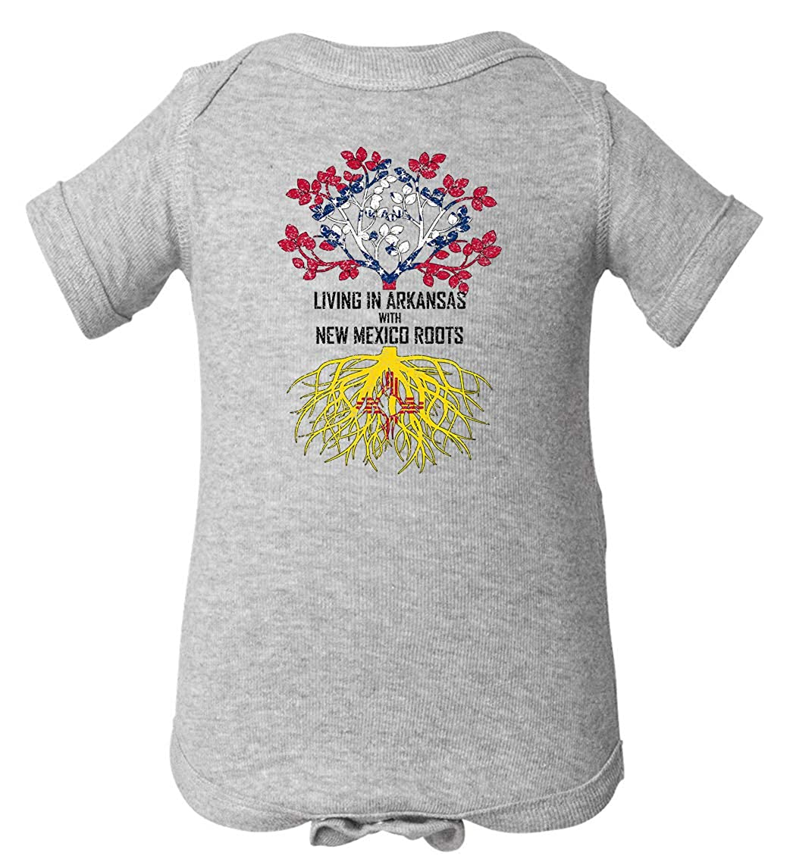 Tenacitee Babys Living in Arkansas Mexico Roots Shirt