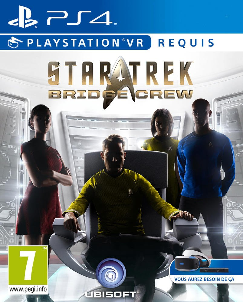 star trek bridge crew VR - PS4 |