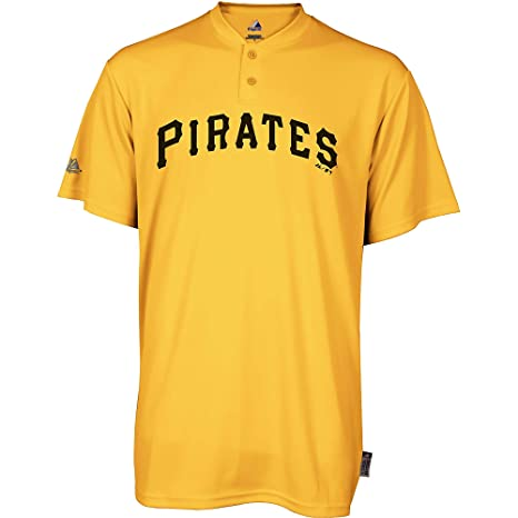 finest selection 13ab1 11061 Amazon.com : Majestic Two Button Pittsburgh Pirates Cool ...