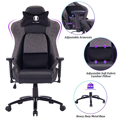 VON RACER Big and Tall Gaming Chair Racing Office Chair