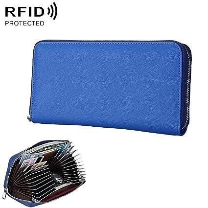 nuevo estilo bcaab 0038f Carteras Pasaporte de Cuero Anti-magnético RFID/Bolso de la ...