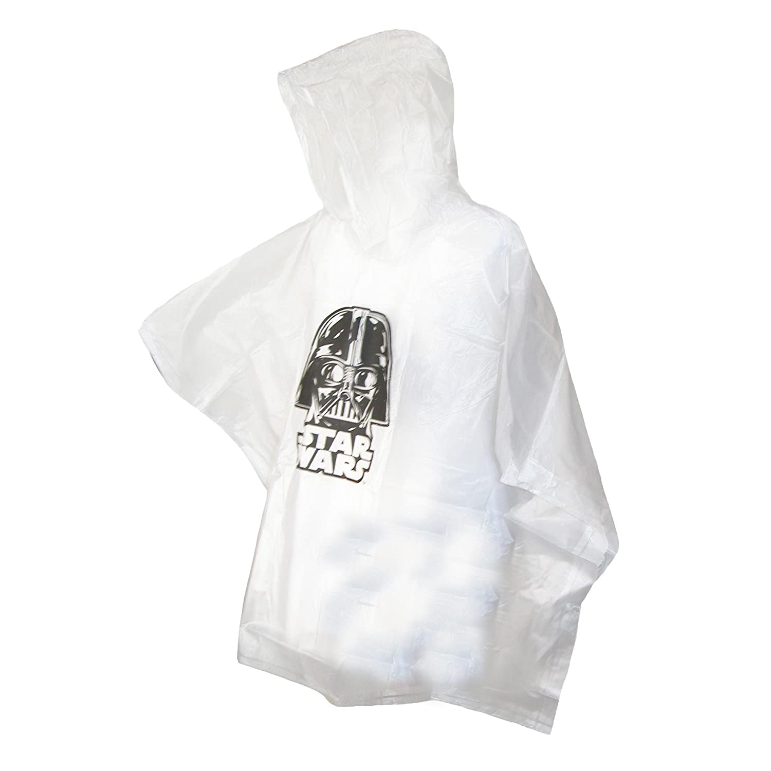 Disney Star Wars Darth Vader Hooded Rain Poncho