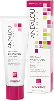 ANDALOU - 1000 Roses Daily Shade Facial Lotion SPF 18-2.7 fl