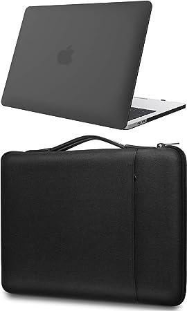 ProCase Estuche Duro + Bolsa Mensajera para MacBook Pro 13