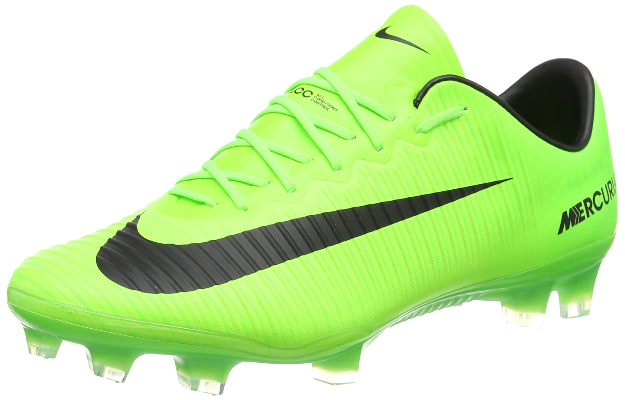 new concept 05352 f5829 Nike Men's Mercurial Vapor XI FG Soccer Cleat (Sz. 11) Electric Green