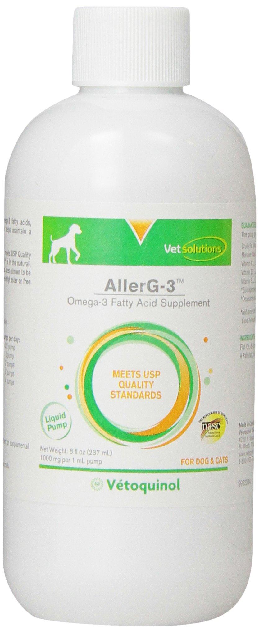Vetoquinol AllerG-3 Liquid,8 oz