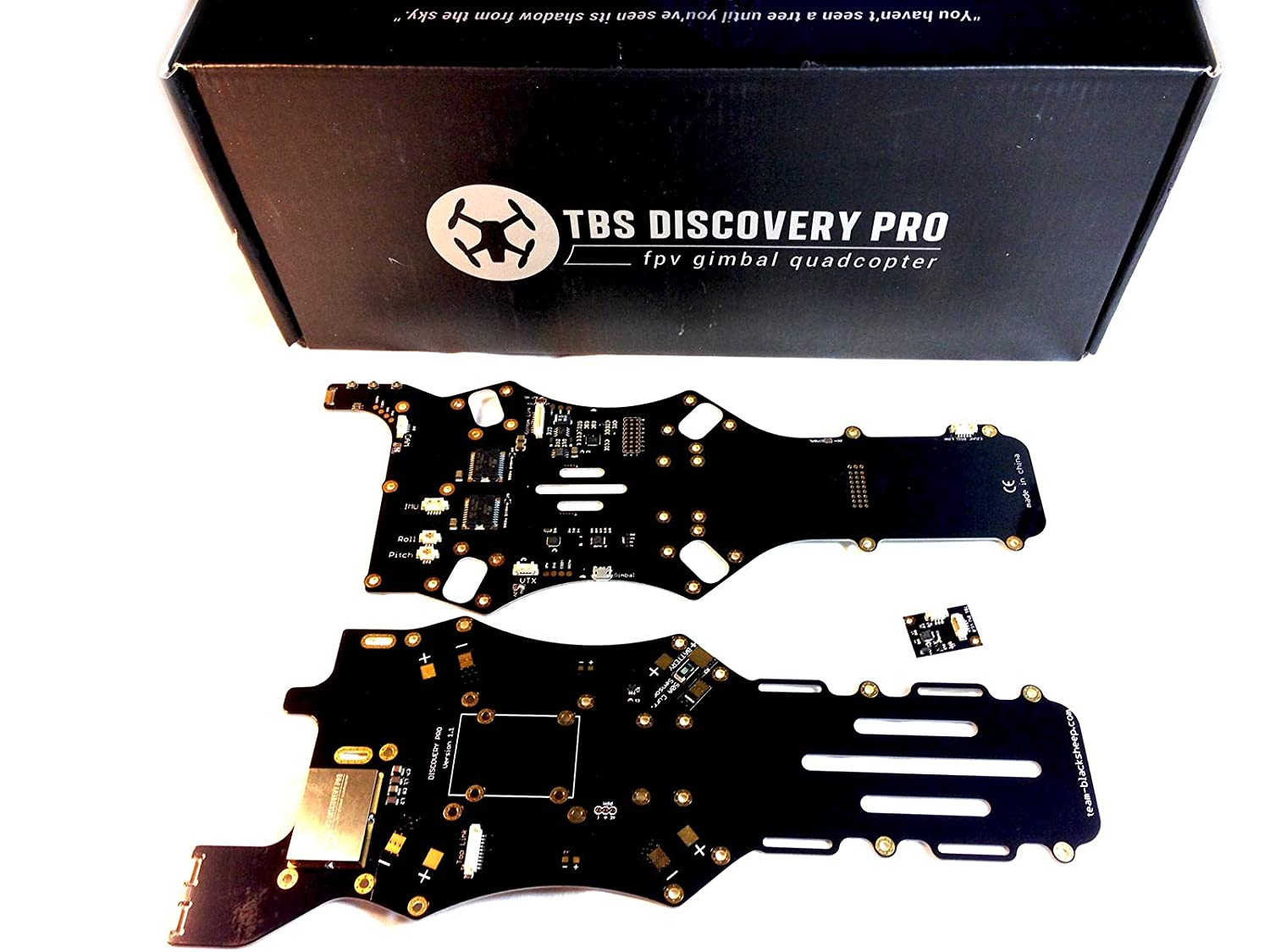 Amazon.com: TBS Discovery Pro Gimbal Frame for Aerial Photography ...