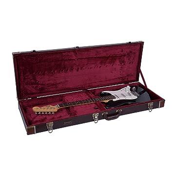 Crossrock CRW600EBR Funda para guitarra eléctrica, funda de ...