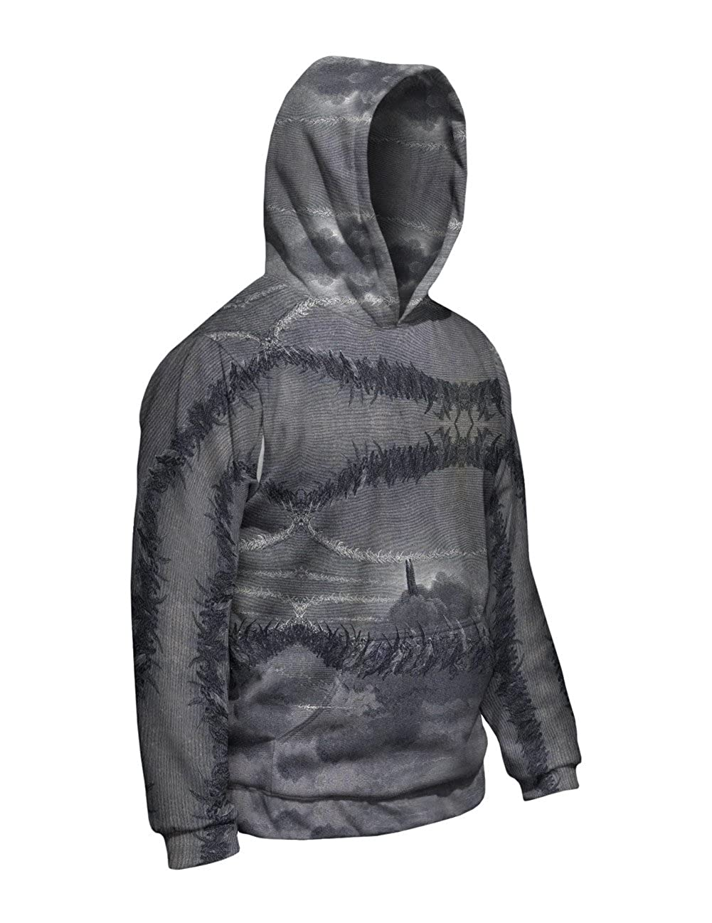 The Divine Comedy Mens Hoodie 2522 Yizzam- Gustave Dore Allover Print