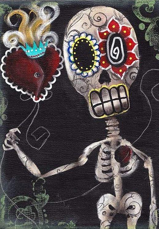 Take My Heart Abril Andrade Sacred tatuaje de calavera en llamas ...