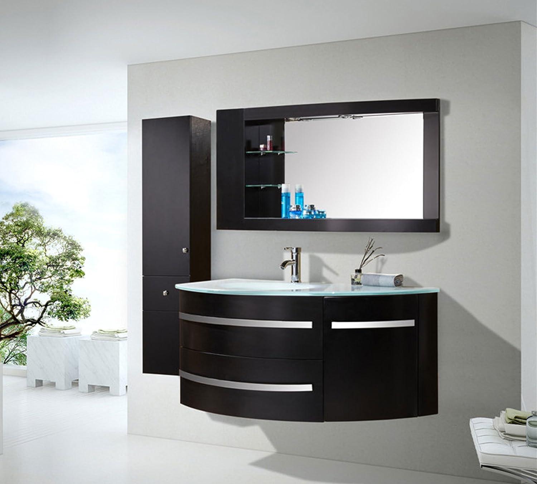 mobile bagno arredo bagno completo 120 cm lavabo rubinetti mod ... - Arredo Bagno Completo
