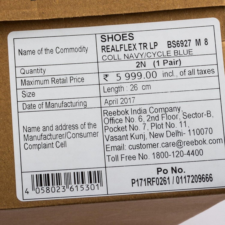 Reebok Realflex Hombre India AkmpZg
