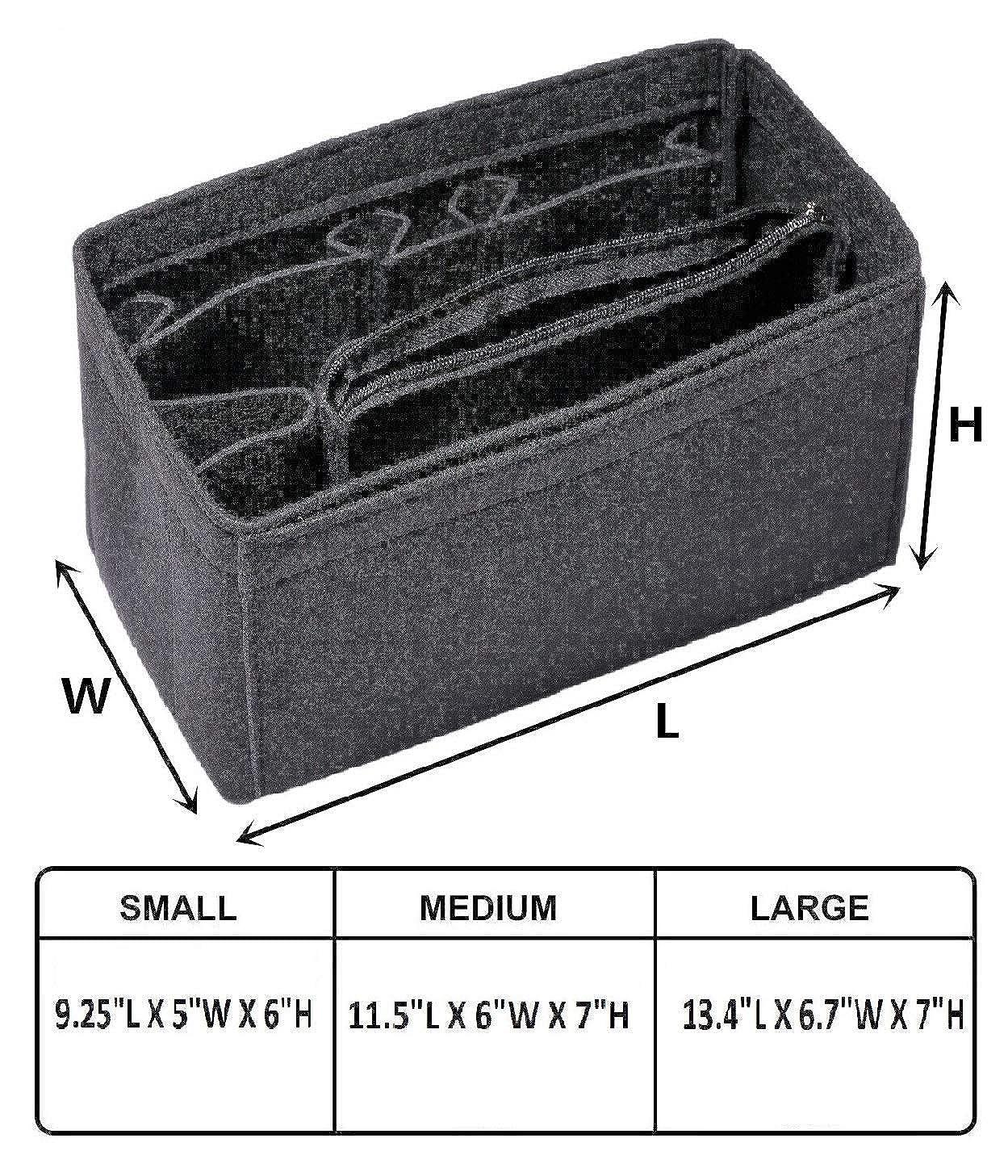 Amazon.com: Organizador de bolsas de fieltro para bolsos con ...