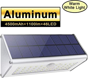 Jardin 48 DEL Solaire Capteur de mouvement lumières blanches 3 Modes IP65 Outdoor Wall Lampe