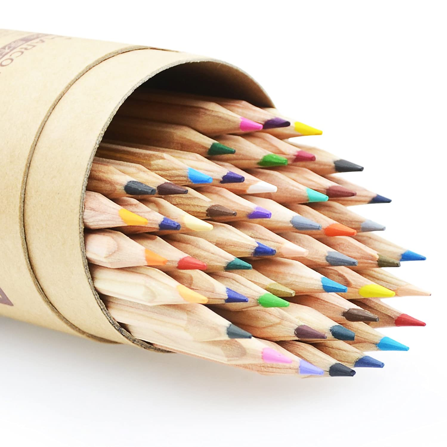 Minhe 48-colors Oil-Based Professional Art Colored Pencils / Drawing Pencils (6100-48CT)