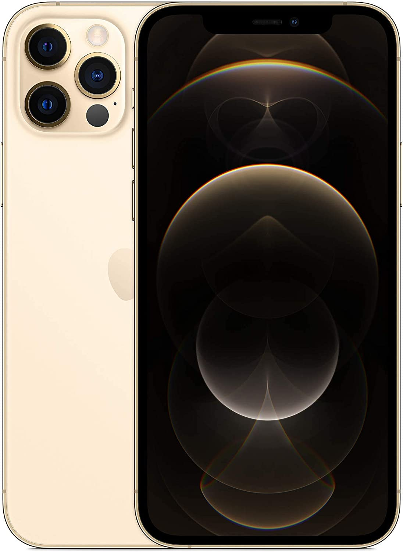 Apple iPhone 12 Pro, 128GB, Gold - Fully Unlocked (Renewed)