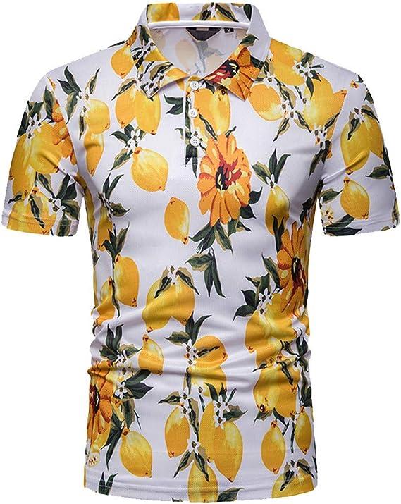 Camisa Hawaiana para Hombre Camisas Corta Fibujos Hombre Ropa Estampada de Verano Camiseta Casual de Manga Corta Blusas Camisa Negra Rayas Hombre Jodier: Amazon.es: Deportes y aire libre