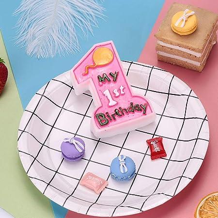 Gulin Velas de cumpleaños de un año de bebé, Vela Divertida ...