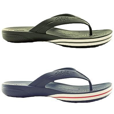 Adidas Crocs Kilby Flip Flop, Zapatillas Altas para Hombre, Negro Black, 44 EU: Amazon.es: Zapatos y complementos