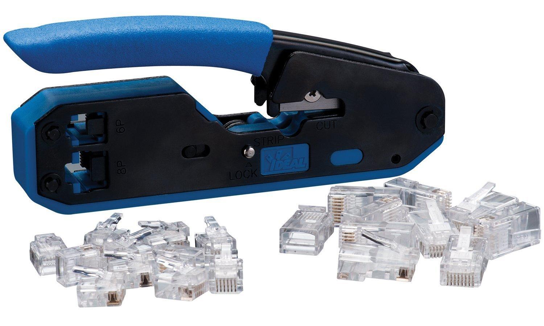 ideal rj45 wiring diagram ideal 33 396 data voice crimp tool amazon com industrial  ideal 33 396 data voice crimp tool