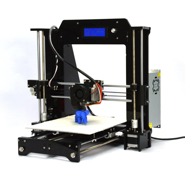 Rapid Rabit Prusa I3 3D Printer Black Indian Amazon Amazon