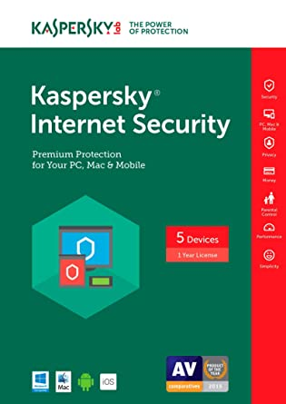 Amazon.com: Kaspersky Internet Security 2017 | 1 Device | 1 Year ...