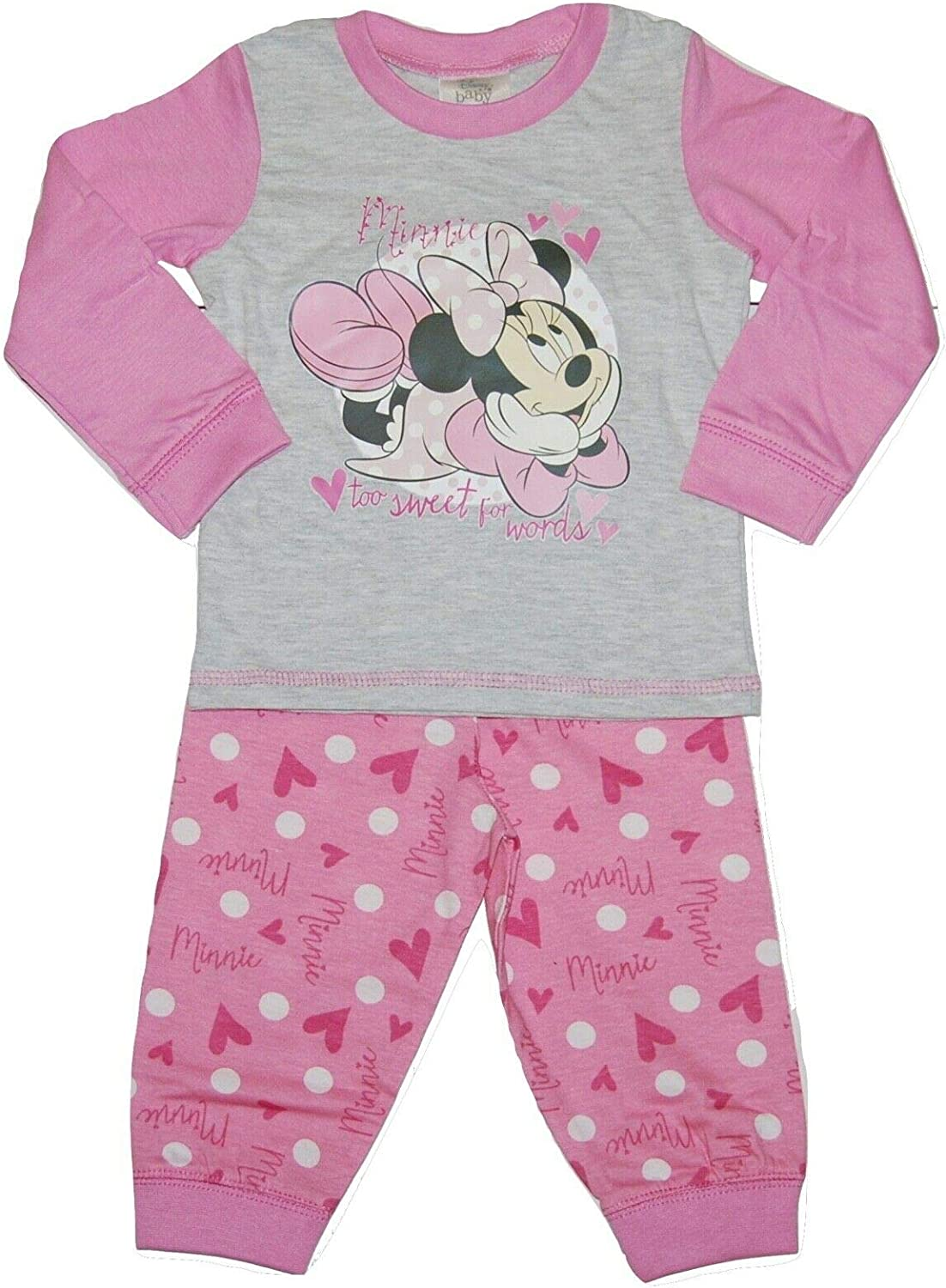 Baby Disney Minnie Mouse Pyjamas 6-24 Months
