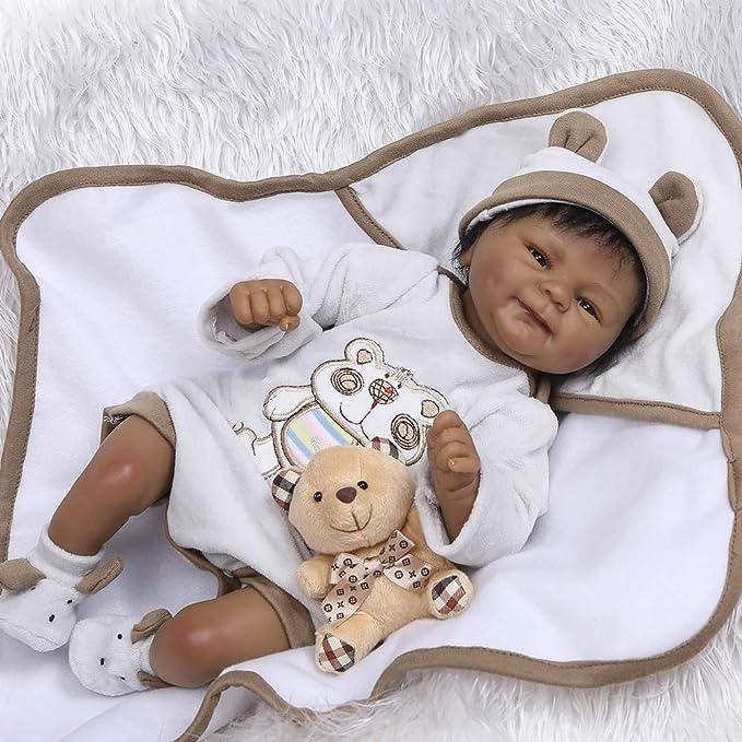 Zero Pam Realistic Biracial Baby Doll, 18