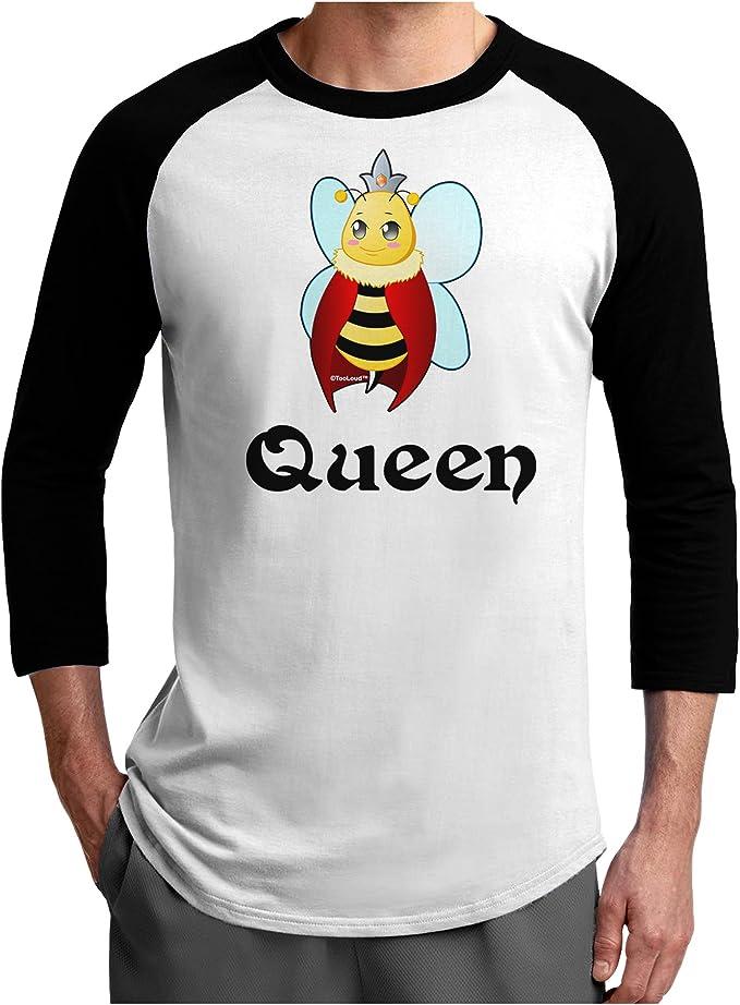 TooLoud Queen Bee Text 2 Toddler T-Shirt
