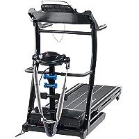 Newgen Medicals Laufbahn: 2in1 Profi-Laufband LF-412.multi mit Fitness-Station und Bandmassage (Heimtrainer)