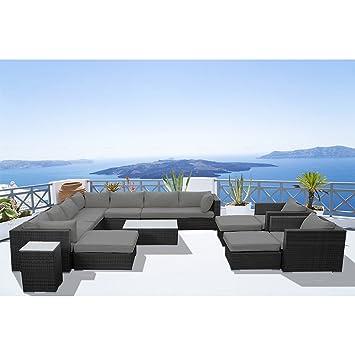 Concept-Usine - Stalla: Salon de jardin 13/14 pers modulable en ...