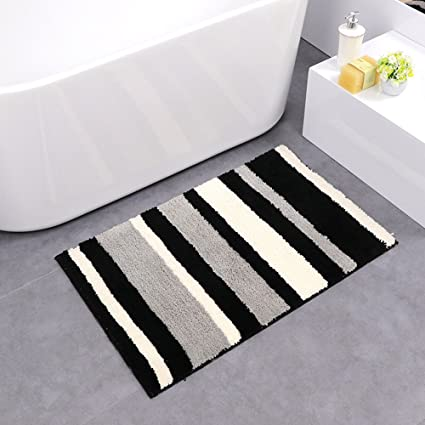 microfiber bathroom lonior super bath non mat rug slip rugs mats extra absorbent dp washable long