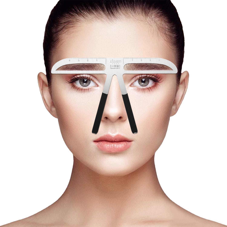 Permanent Tattoo Eyebrows Ruler 3D Balance Eye Brow Template Stencil Shaper Makeup Tools(1)