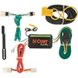 CURT 56127 Vehicle-Side Custom 4-Pin Trailer Wiring Harness, Select Mitsubishi RVR, Outlander Sport, Lancer