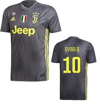 san francisco 27bd2 e7190 Amazon.com: Juventus Dybala 3rd Jersey 2018/19 Original ...