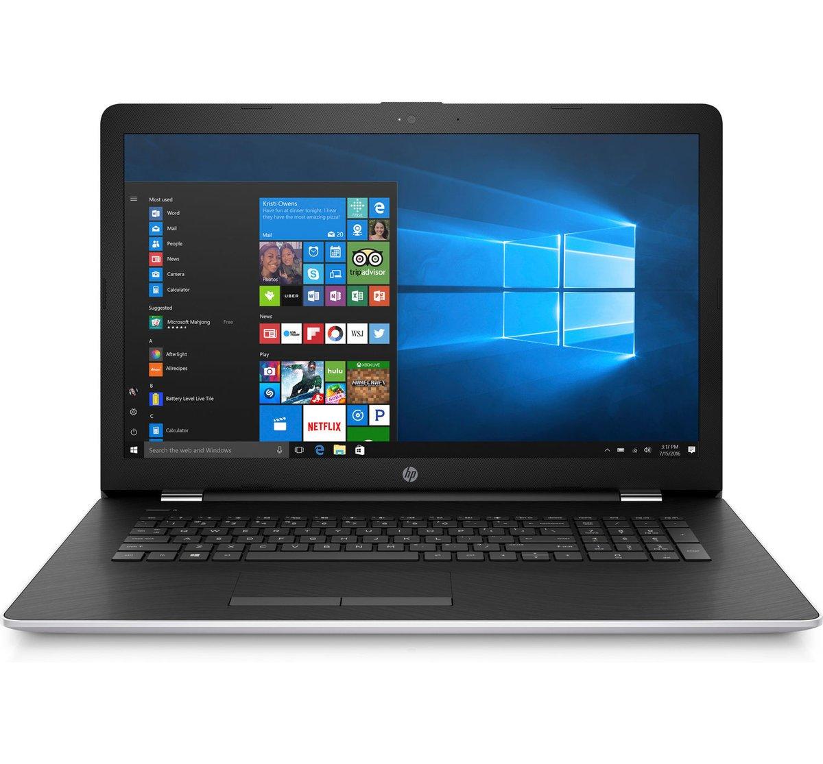 2018 HP 17.3'' Full HD IPS Business Gaming Laptop - Intel Dual-Core i7-7500U Up to 3.5GHz, 16GB DDR4, 1TB SSD, DVDRW, 4GB AMD Radeon 530, WLAN, Bluetooth, Webcam, Backlit Keyboard, Win 10