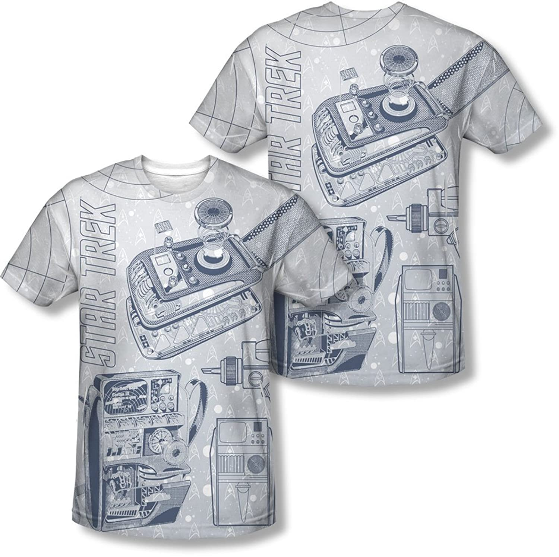 Star Trek - Mens Gadgets (Front/Back Print) T-Shirt