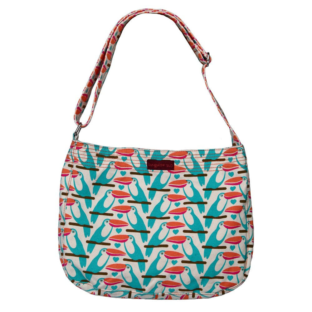 Image of Luggage Bungalow360 Canvas Messenger Bag